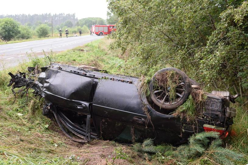 W tym wypadku zginęły 4 osoby /Jakub Kaczmarczyk /PAP