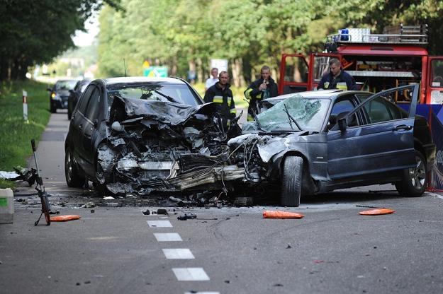 W tym zderzeniu śmierć poniosła jedna osoba /PAP