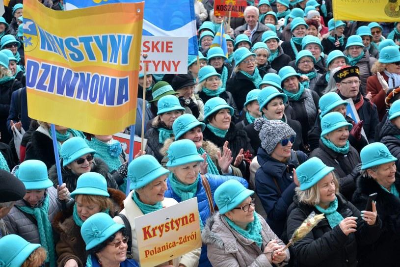 W ubiegłym roku Krystyny spotkały się w Lublinie /ANNA KURKIEWICZ/ POLSKAPRESSE /East News
