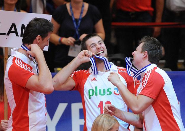 W ubiegłym roku Polacy wygrali z Rosją mecz o trzecie miejsce na ME. /AFP