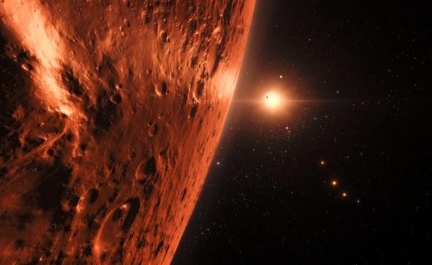 W układzie planetarnym TRAPPIST-1 może być dużo wody