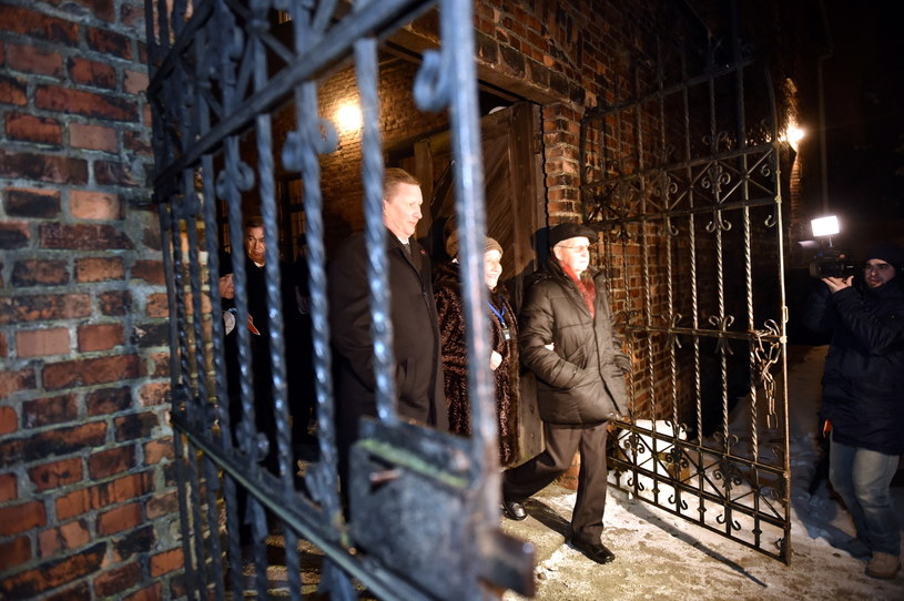 W uroczystościach w Auschwitz uczestniczył szef Kancelarii Prezydenta Rosji Siergiej Iwanow /Jacek Bednarczyk /PAP