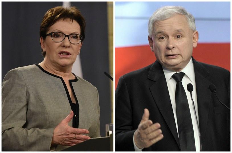 """W Warszawie """"jedynkami"""" Kopacz i Kaczyński /INTERIA.PL"""