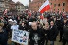 """W Warszawie manifestowali """"przeciw islamizacji Europy"""""""