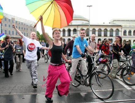 W Warszawie odbyła się dziś Parada Równości /Agencja SE/East News
