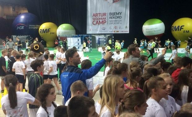 W Warszawie odbyła się największa w Polsce lekcja WF-u. Rekord Guinnessa pobity