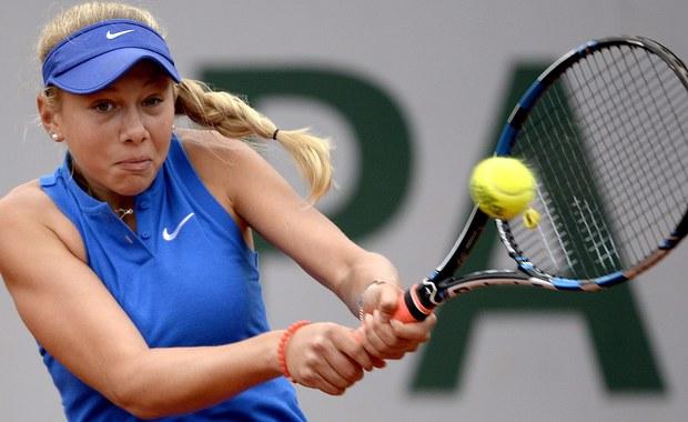 W Wielkim Szlemie pierwszy raz zagrała tenisistka urodzona w XXI wieku