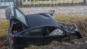 W Wigilię w 62 wypadkach zginęło siedem osób