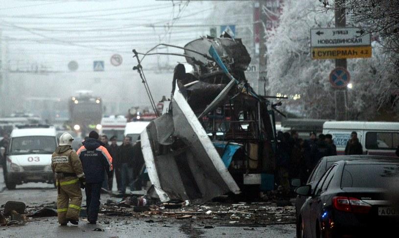 W Wołgogradzie doszło do dwóch zamachów /AFP
