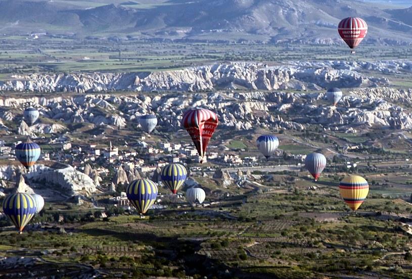 W wyniku wypadku balonu w Kapadocji zginęły dwie osoby /PAP