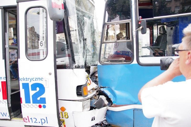 W wyniku zderzenia rannych zostało 25 osób /Paweł Łysik /RMF FM