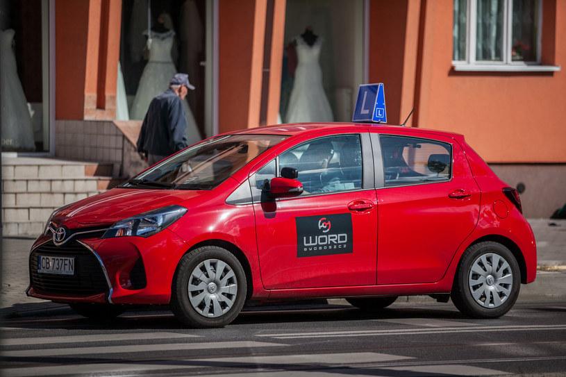 W wypadku brała udziała taka Toyota nauki jazdy (fot. ilustracyjne) /Polska Press /East News