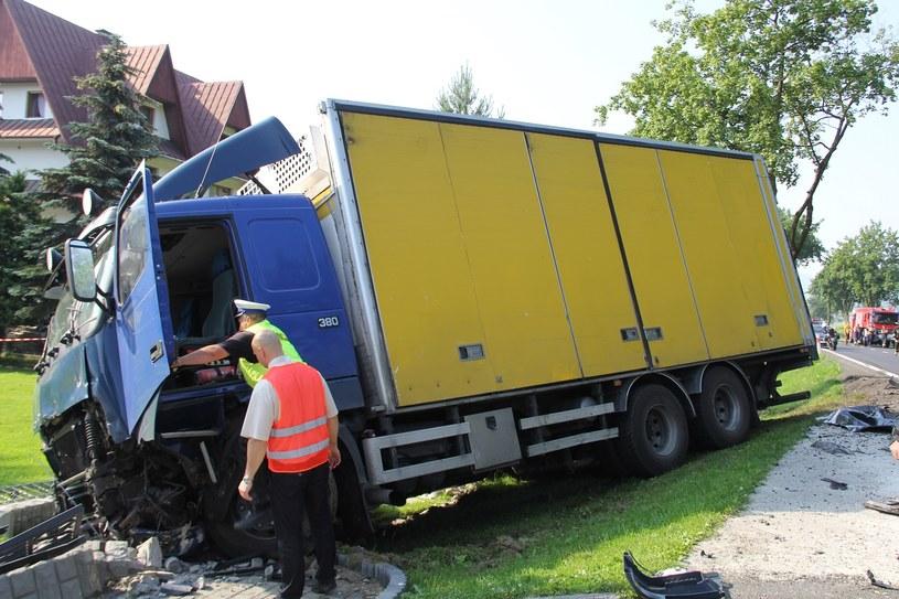 W wypadku na zakopiance ranne zostały trzy osoby, w tym dziecko /Maciej Pałahicki /RMF FM