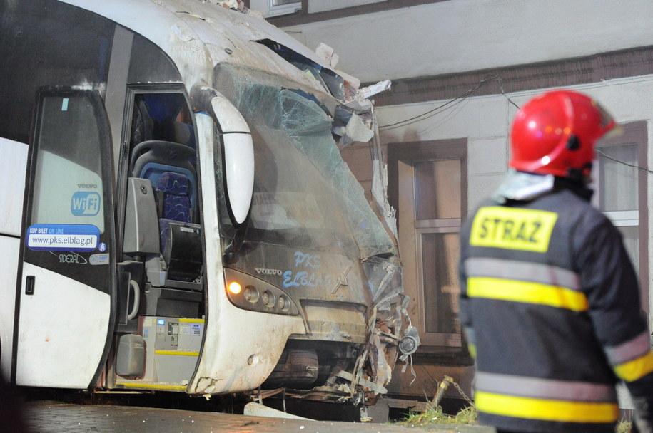 W wypadku poszkodowanych zostało siedem osób /Marcin Bielecki /PAP