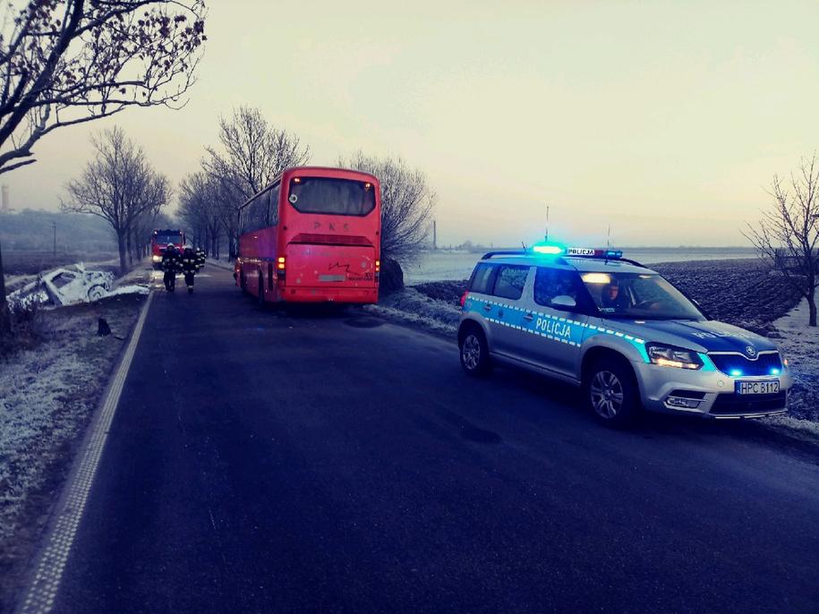 W wypadku rannych zostało 8 osób /Policja