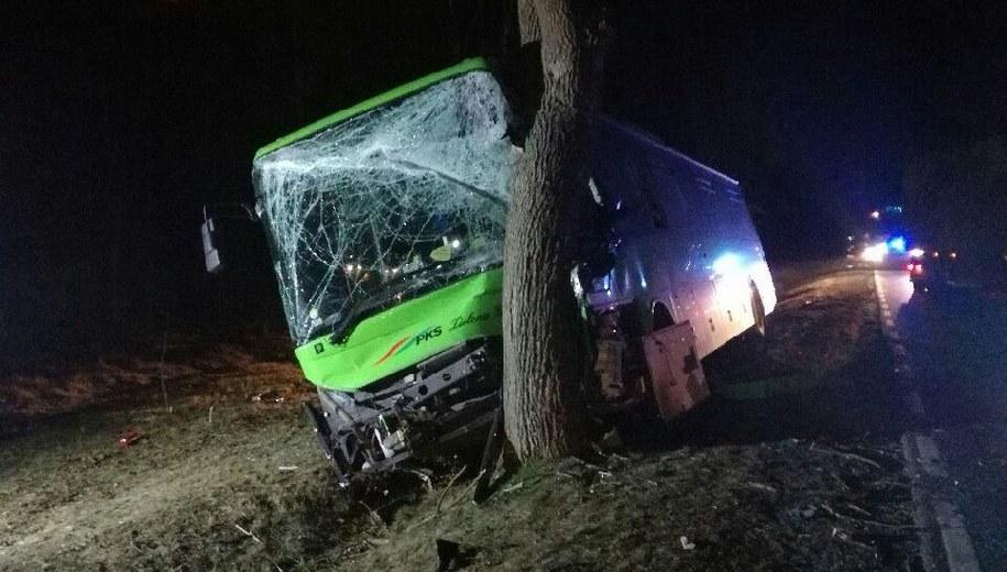 W wypadku rannych zostało kilka osób. /KPP Słubice /Policja