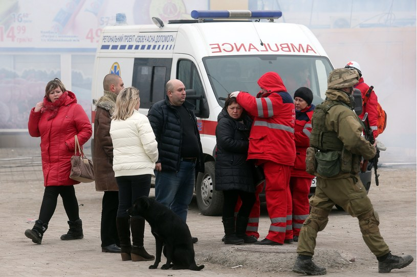 W zamachu na Mariupol zginęło 30 osób /AFP