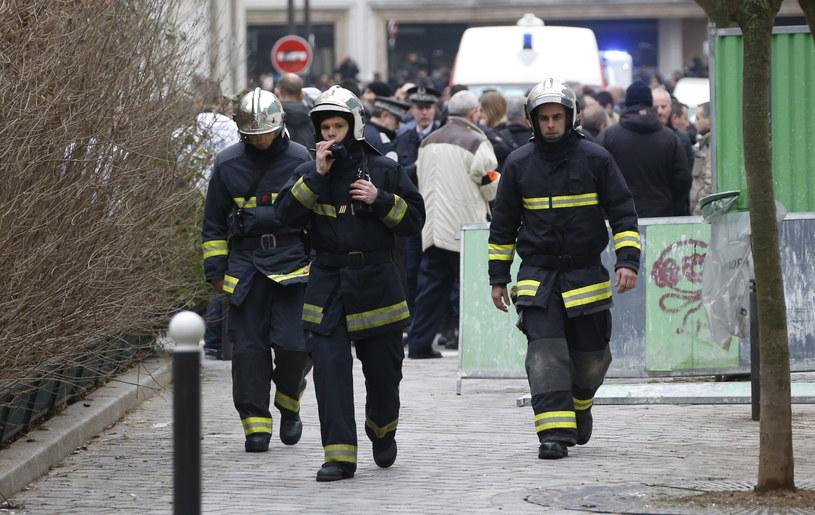W zamachu zginęło 12 osób /PAP/EPA