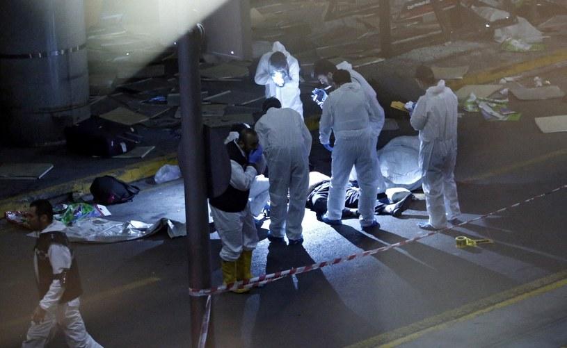 W zamachu zginęło ponad 40 osób /PAP/EPA