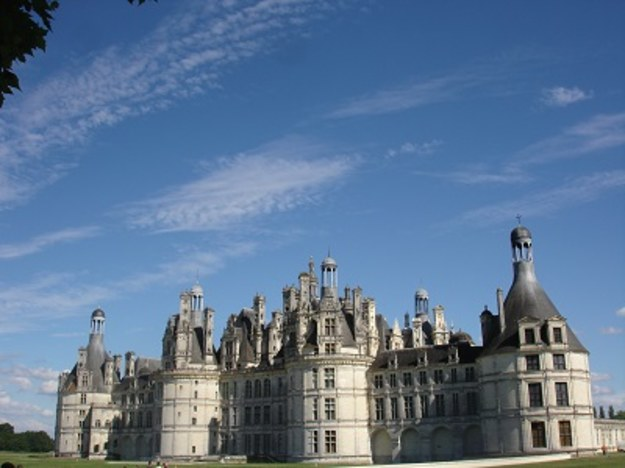 W zamkach w Blois i w Chambord – opowieść wakacyjna 3