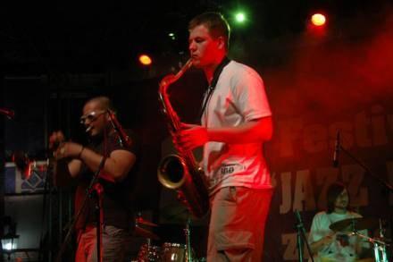 W Zamościu jazz wyszedł na ulice / fot. W. Brzyski /zamosconline.pl