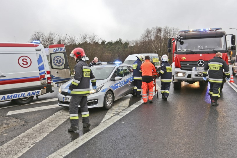 W zeszłym roku na drogach zginęło rekordowo mało osób /Piotr Jędzura /Reporter