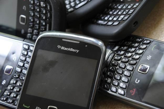 W zeszłym tygodniu użytkownicy BlackBerry musieli zmierzyć się z awarią /AFP