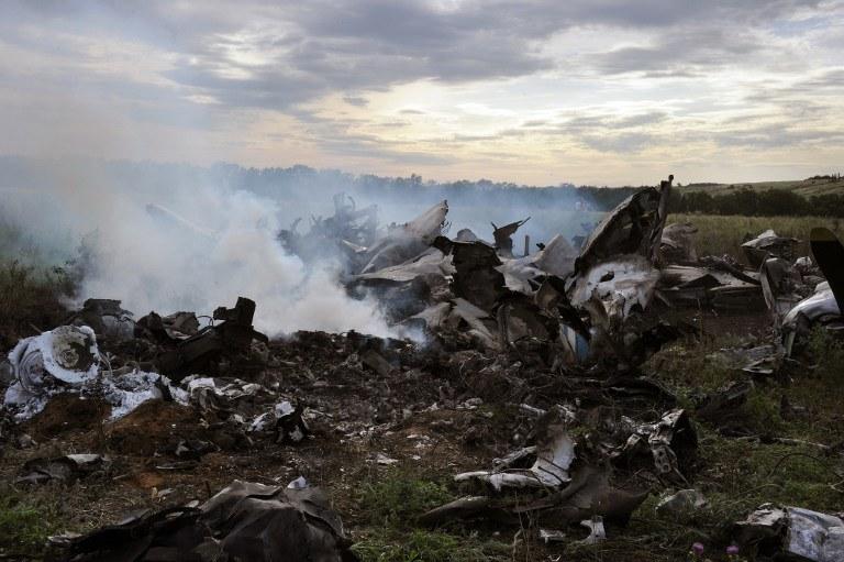 W związku z zestrzeleniem samolotu transportowego An-26 lotnictwo sił zbrojnych Ukrainy pozostaje od poniedziałku w swoich bazach /AFP