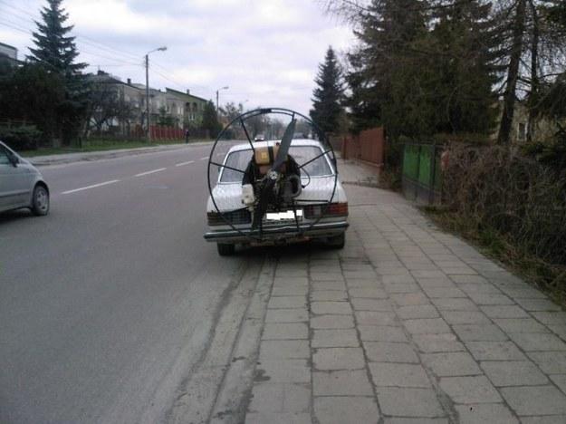 W123 z dopalaczem ;)