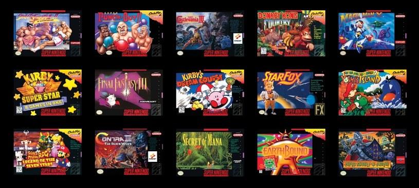 Wachlarz dostępnych gier na konsolę SNES Classic Mini prezentuje się imponująco, chociaż prawdopodobnie gracze z Europy nie dostaną kilku japońskich tytułów. /materiały prasowe