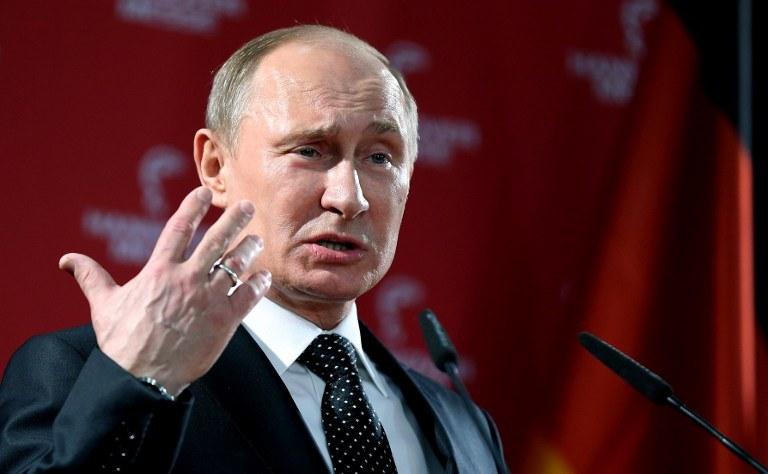 Wadimir Putin /AFP