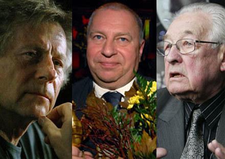 Wajda, Polański, Stuhr - to wciąż najbardziej rozmoznawalne na świecie nazwiska polskich reżyserów /AFP
