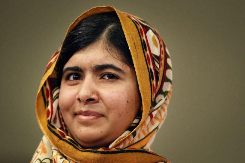 Walcząca o prawa dzieci do edukacji 16-letnia Pakistanka Malala Yousafzai. /BAS CZERWINSKI  /AFP