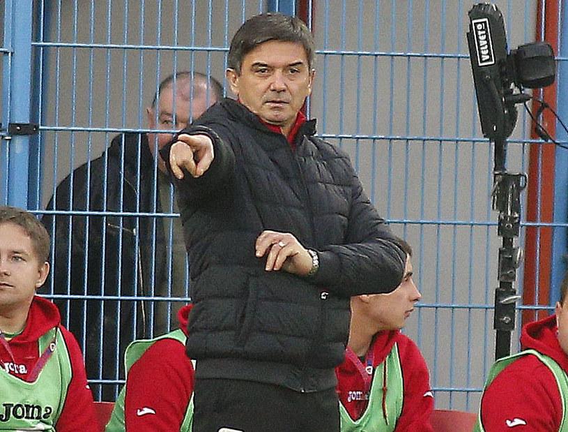 Waldemar Fornalik zadebiutował w roli trenera Piasta Gliwice /Tomasz Wańtuła /Newspix