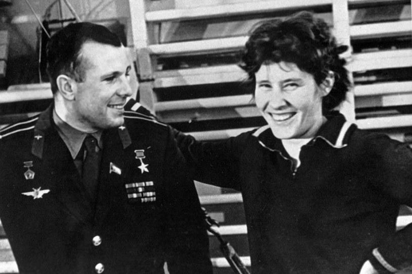 Walentyna Tierieszkowa i Jurij Gagarin /East News
