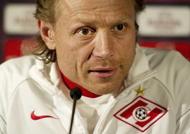 Walery Karpin liczy na zwycięstwo z Legią i zakwalifikowanie Spartaka do fazy grupowej LE /AFP