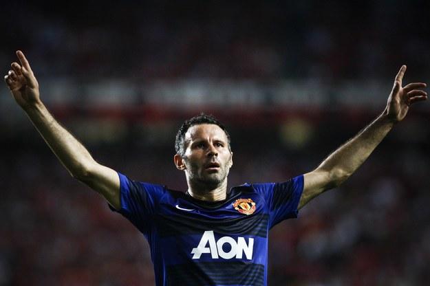 Walijski piłkarz Ryan Giggs /. /AFP