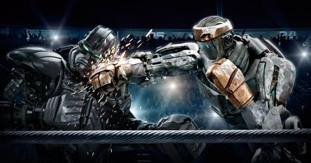 """Walka robotów z filmu """"Real Steel"""" /materiały prasowe"""