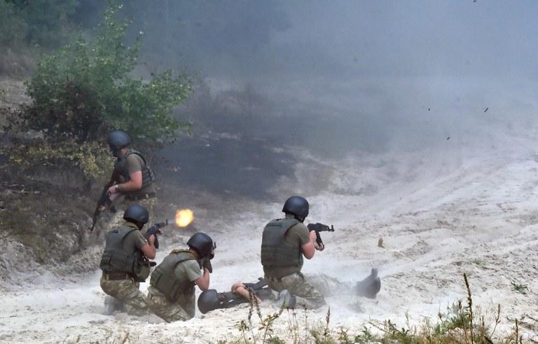 Walki na Ukrainie, zdj. ilustracyjne /AFP