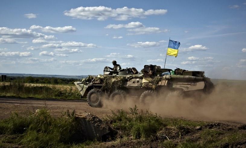 Walki na Ukrainie /PAP/EPA