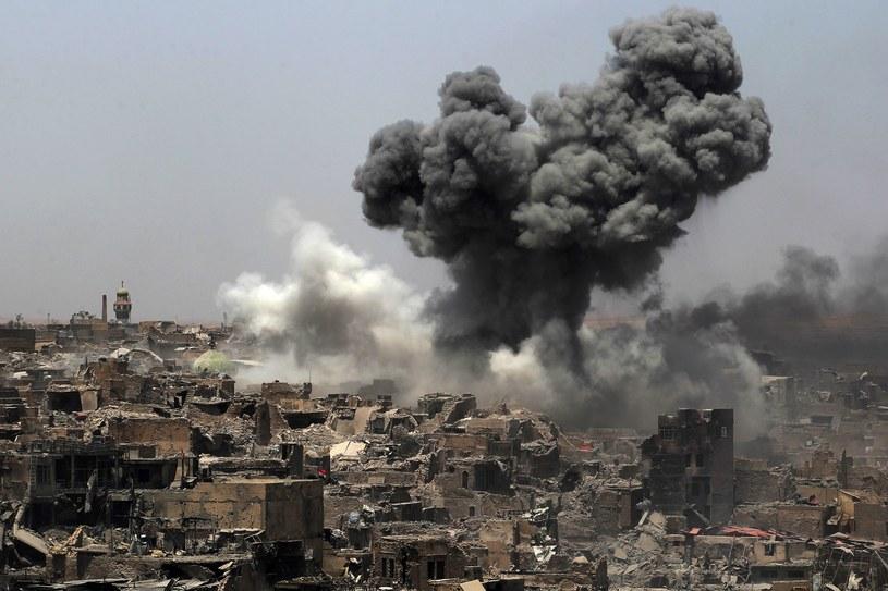 Walki o Mosul /AFP