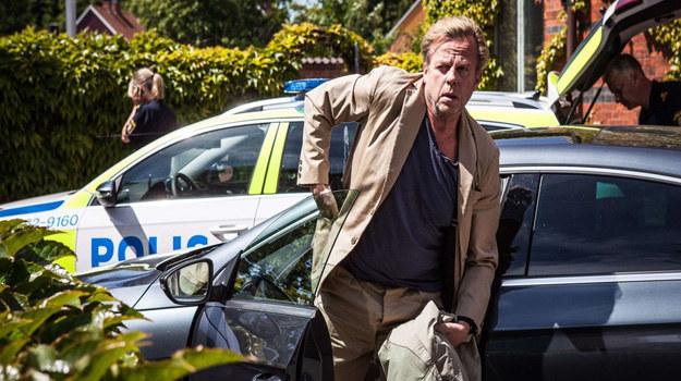 """""""Wallander"""": Przestępstwa, z którymi mierzy się detektyw (Krister Henriksson), są pretekstem do pokazania problemów osobistych bohatera. /materiały prasowe"""