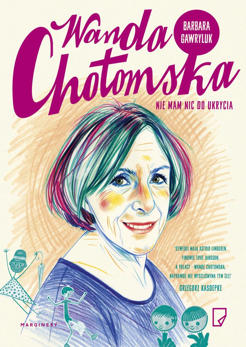 Wanda Chotomska. Nic nie mam do ukrycia /Styl.pl/materiały prasowe