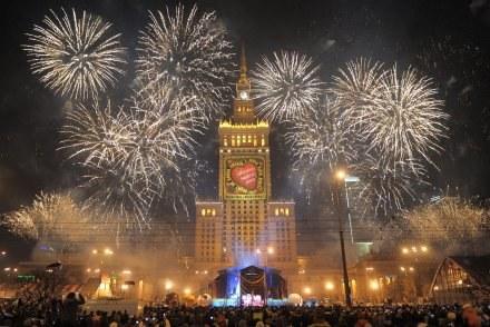 Warszawa 11-01-2009. 17 final WOSP/fot. Adam Chełstowski /Agencja FORUM