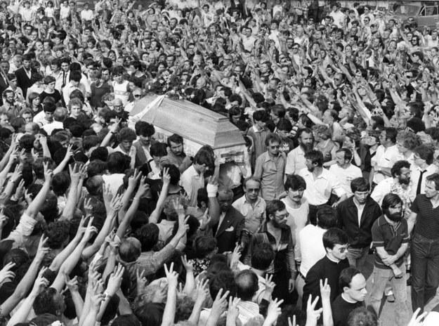 Warszawa, 19 maja 1983 r. Pogrzeb Grzegorza Przemyka / Fot. Witold Szulecki  /Agencja FORUM