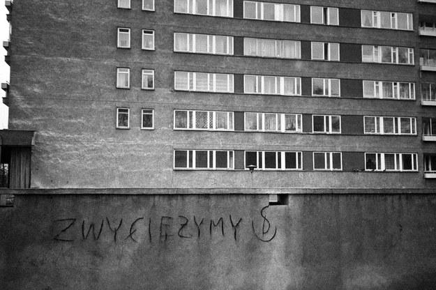 Warszawa, fot. z 1982 roku. /ZBIGNIEW MARKIEWICZ/FOTONOVA /Fotonova