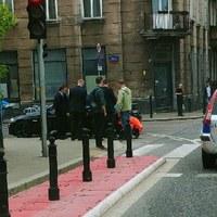 Warszawa: Niebezpieczna sytuacja związana z przejazdem kolumny SOP