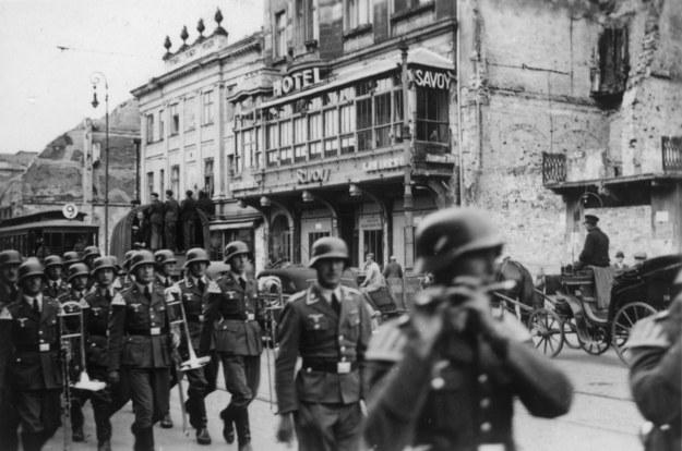 Warszawa po kapitulacji. Wkroczenie wojsk niemieckich, 1939 /Archiwum Marian Leśniewski /PAP