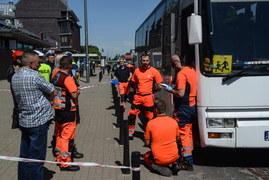 Warszawa: Wypadek autokaru z dziećmi