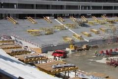 Warszawska budowa stadionu - podpatrujemy prace